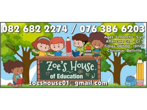 Zoe's House of Education
